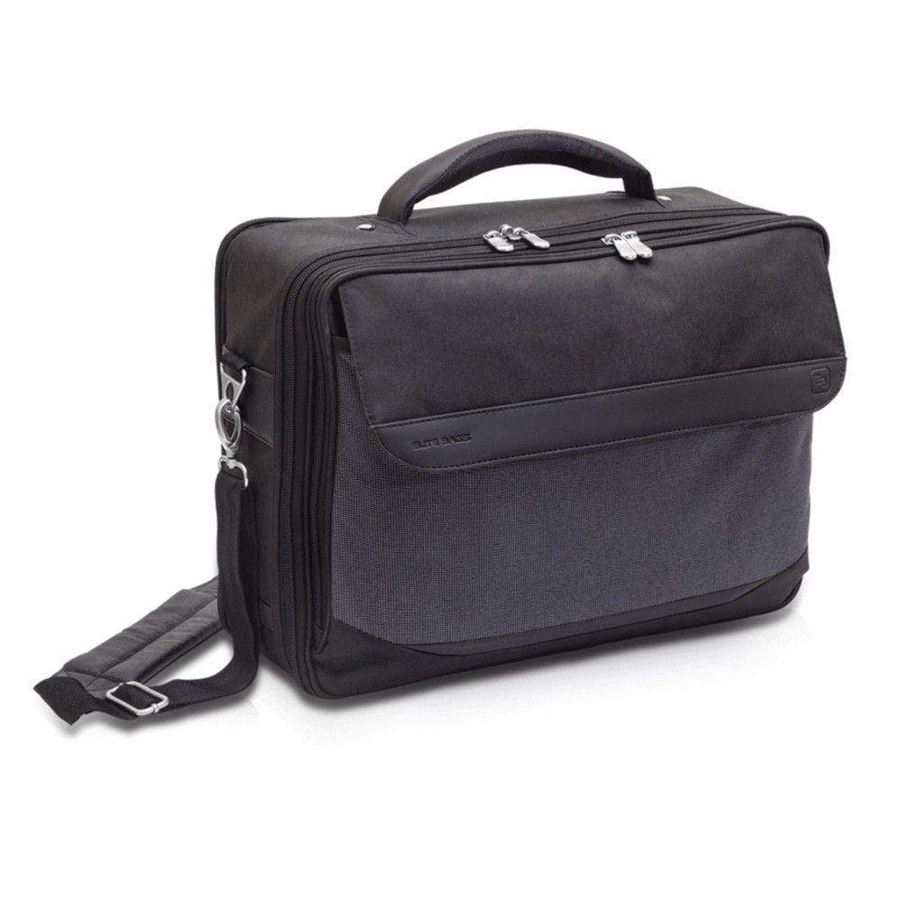 Elite Bags Doctors Bags Elite Bags DOCTOR'S Bag in Black Twill Polyamide