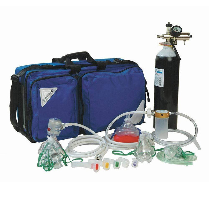 Ferno Oxygen Therapy Kits Ferno Oxy-Rescue Kit and Contents OXK-RV