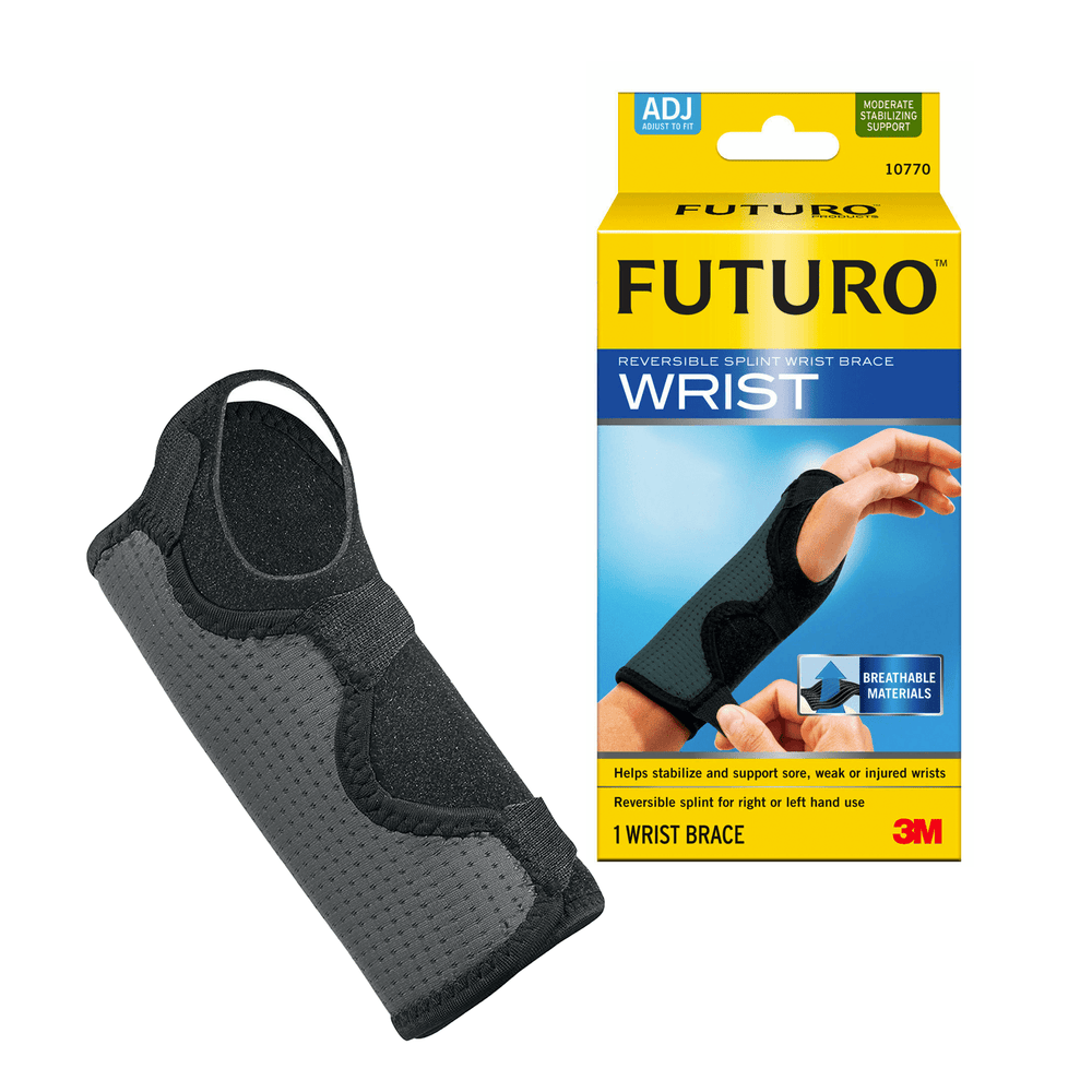 Futuro Wrist Support Adjustable / 14.0cm - 21.5cm Futuro Reversible Splint Wrist Brace - Adjustable