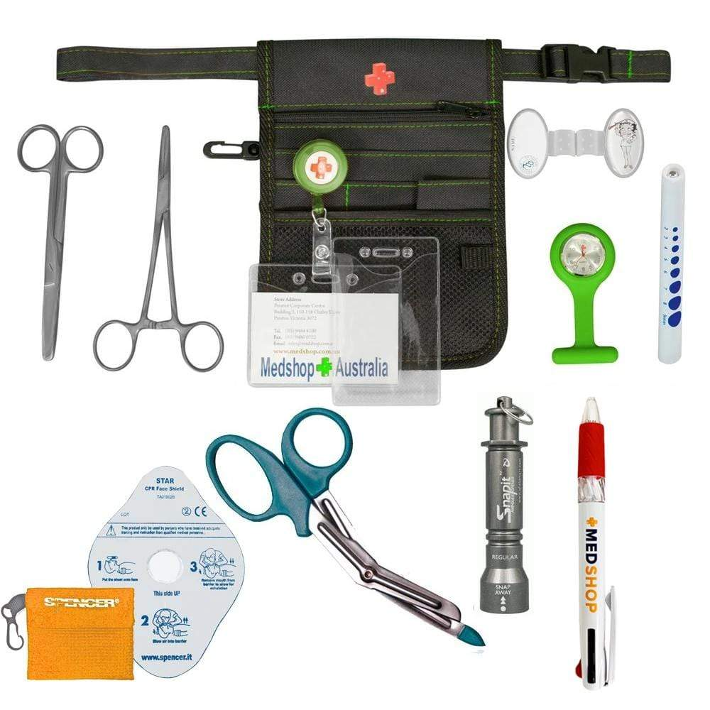 Medshop Advanced Utility Kits Green Advanced Nursing Utility Kit