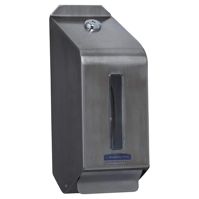 Kimberly Clark Hair & Body Wash Dispenser Stainless Steel / 6342 12552 6331 & 6333 Codes Kimberly-Clark Hand Hair and Body Wash Dispenser