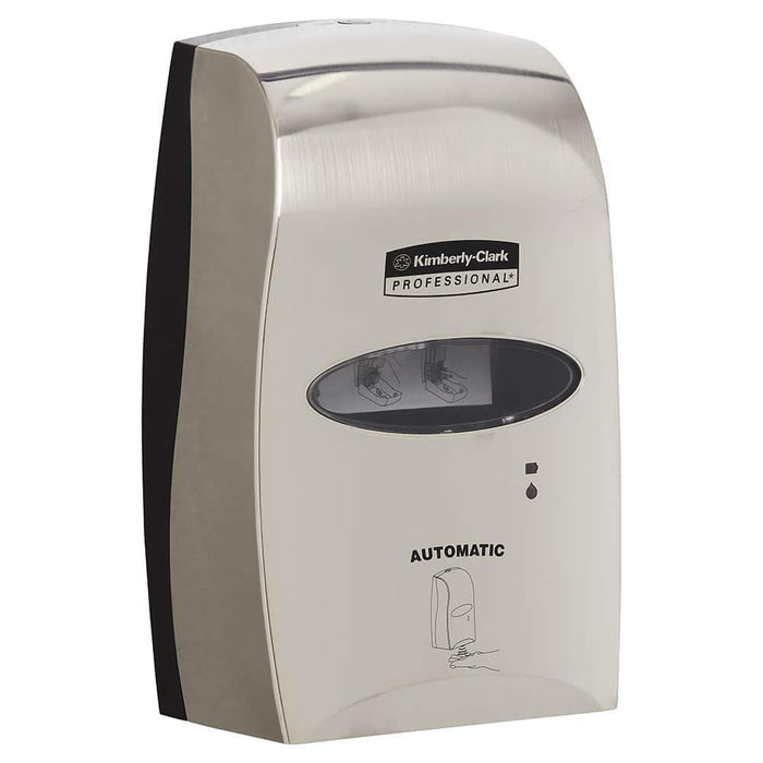 Kimberly Clark Hair & Body Wash Dispenser Metallic ABS Plastic with Touchless Dispensing / 91591 Code Kimberly-Clark Hand Hair and Body Wash Dispenser