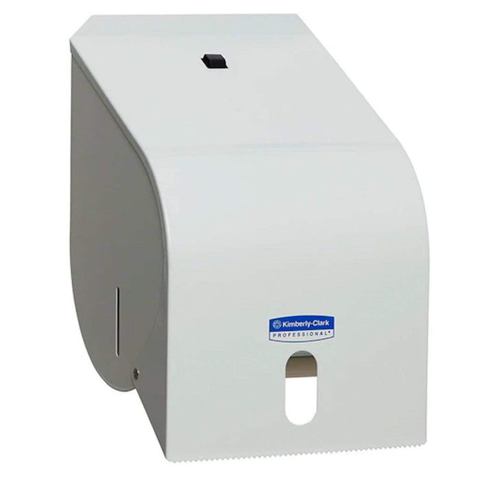 Kimberly Clark Hand Towel Dispenser White Enamel / 4419 Code Kimberly-Clark Hand Towel Roll Dispensers