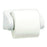 Kimberly Clark Toilet Tissue Dispenser Single Roll / White Lockable ABS Plastic / Most Small Roll Toilet Tissue Codes Kimberly-Clark Small Roll Toilet TissueDispenser