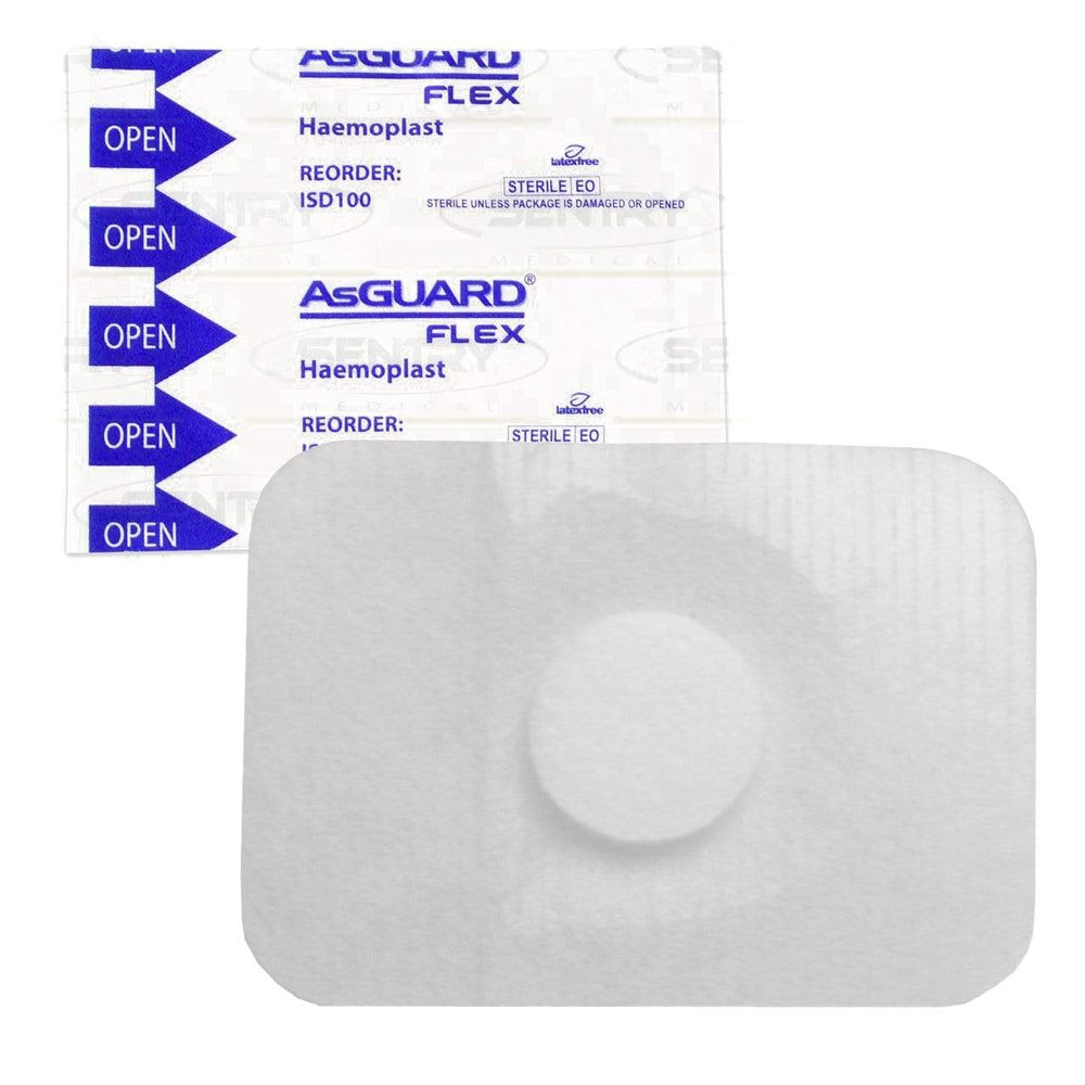 Sentry Medical Injection Site Dressings Sterile Sentry AsGUARD Flex Haemoplast
