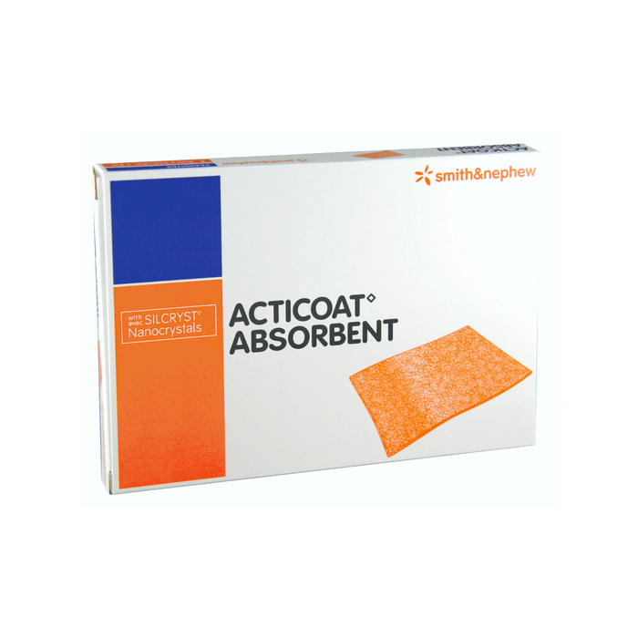 Smith & Nephew Acticoat Absorbent Antimicrobial Silver Dressing