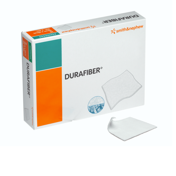 Smith & Nephew Wound Dressings 10x10cm Smith & Nephew Durafiber Soft Sterile Non-Woven Dressing