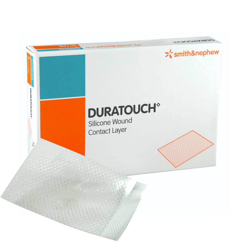 Smith & Nephew Silicone Wound Contact Layer 12x15cm Smith & Nephew Duratouch Silicone Wound Contact Layer