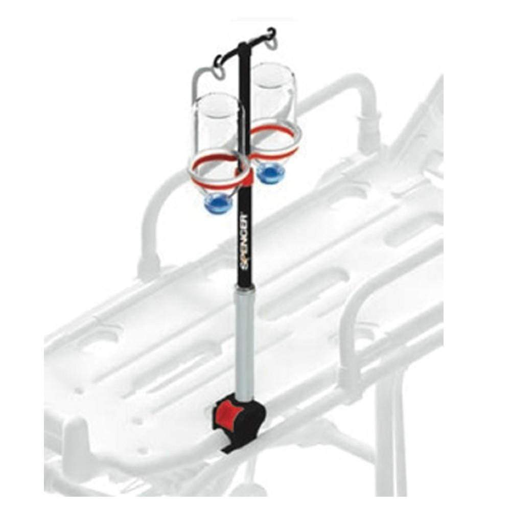 Spencer Stretcher IV Poles Spencer Track 5 Telescopic IV Pole for Basket Stretchers