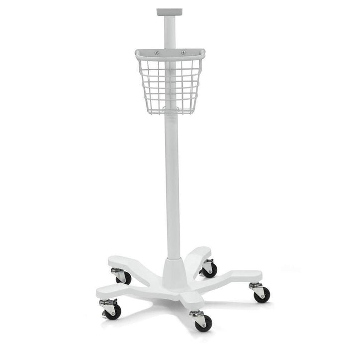 Welch Allyn Sphygmomanometer Accessories Mobile Stand and Basket Assembly Only Platform Style for 767-series Welch Allyn 767-Series Sphygmomanometer Accessories