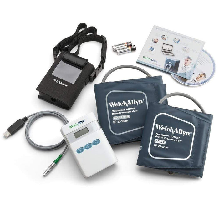 Welch Allyn Ambulatory Blood Pressure Monitor Accessories ABPM 7100S Recorder including CardioPerfect Software Welch Allyn ABPM Accessories