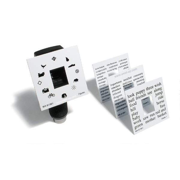 Welch Allyn Retinoscopes Magnetic Fixation Cards Set of Four Welch Allyn Retinoscope and Retinoscope Accessories