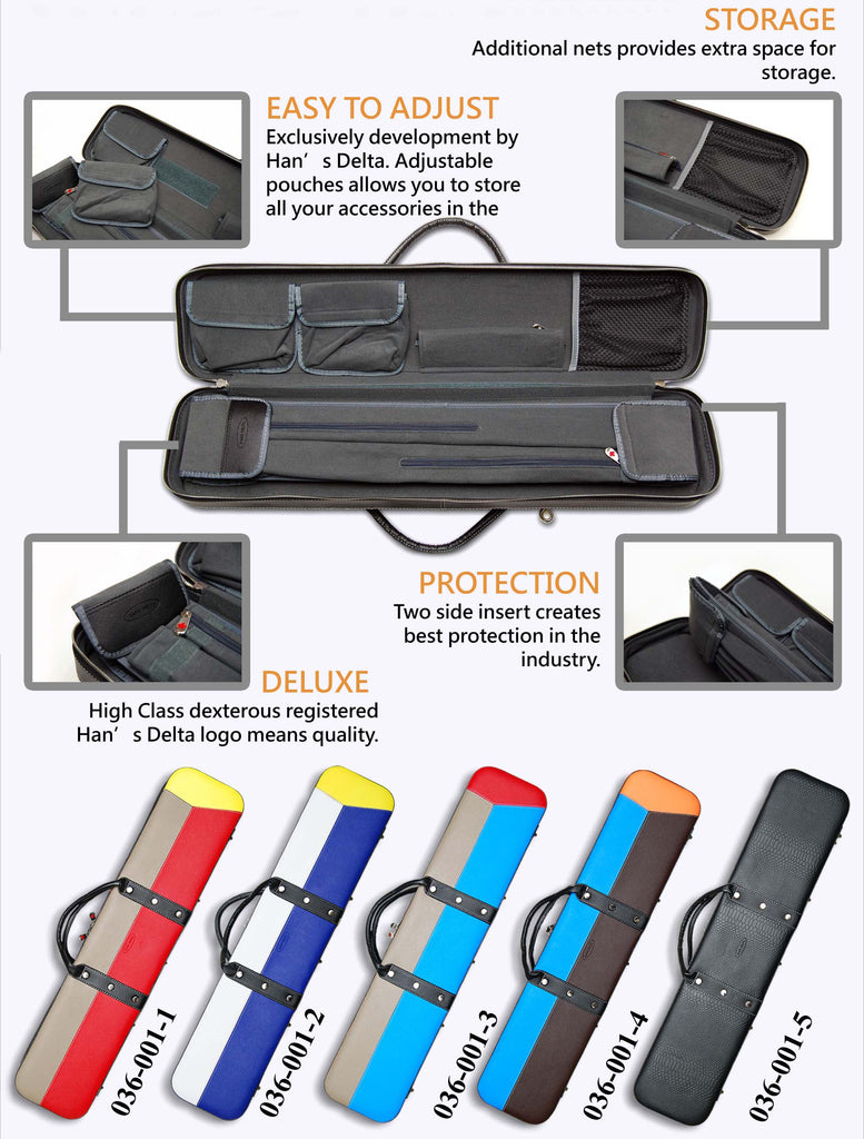 Delta Blue & Grey 2x4 Soft Case