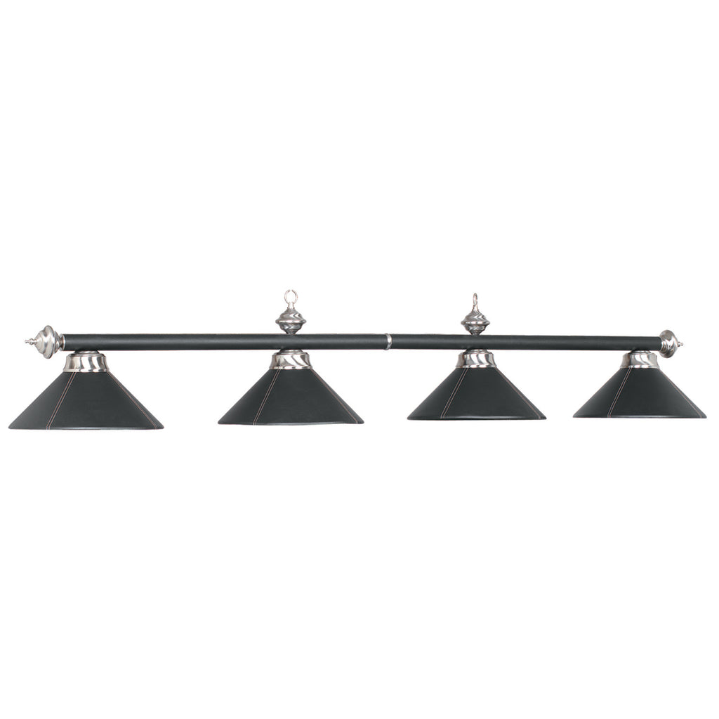 "4 LT-54"" BILLIARD LIGHT-LEATHER/BLACK"
