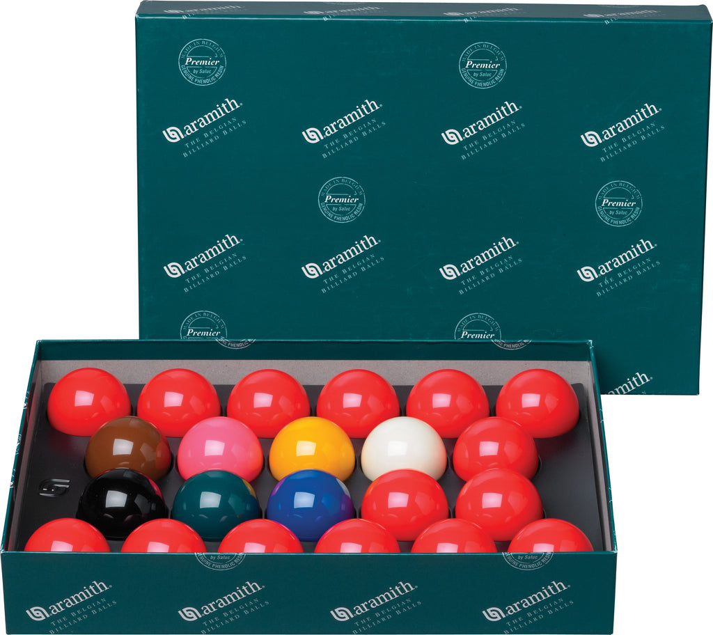 2 1/8 Aramith English Snooker Ball Set