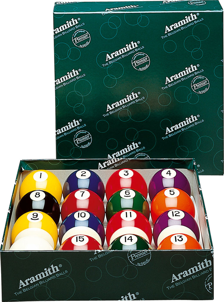 2 1/8 Premier Aramith Ball Set