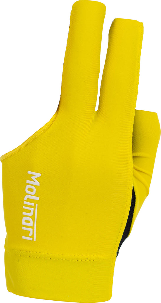 Molinari BGLMOL Billiard Glove - Yellow