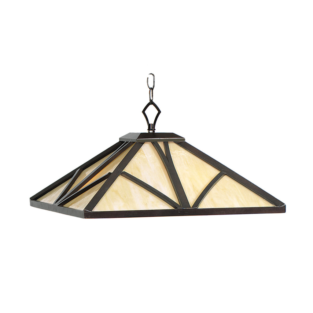 "CHATEAU- 17"" PENDANT LIGHT-CAPPUCCINO"