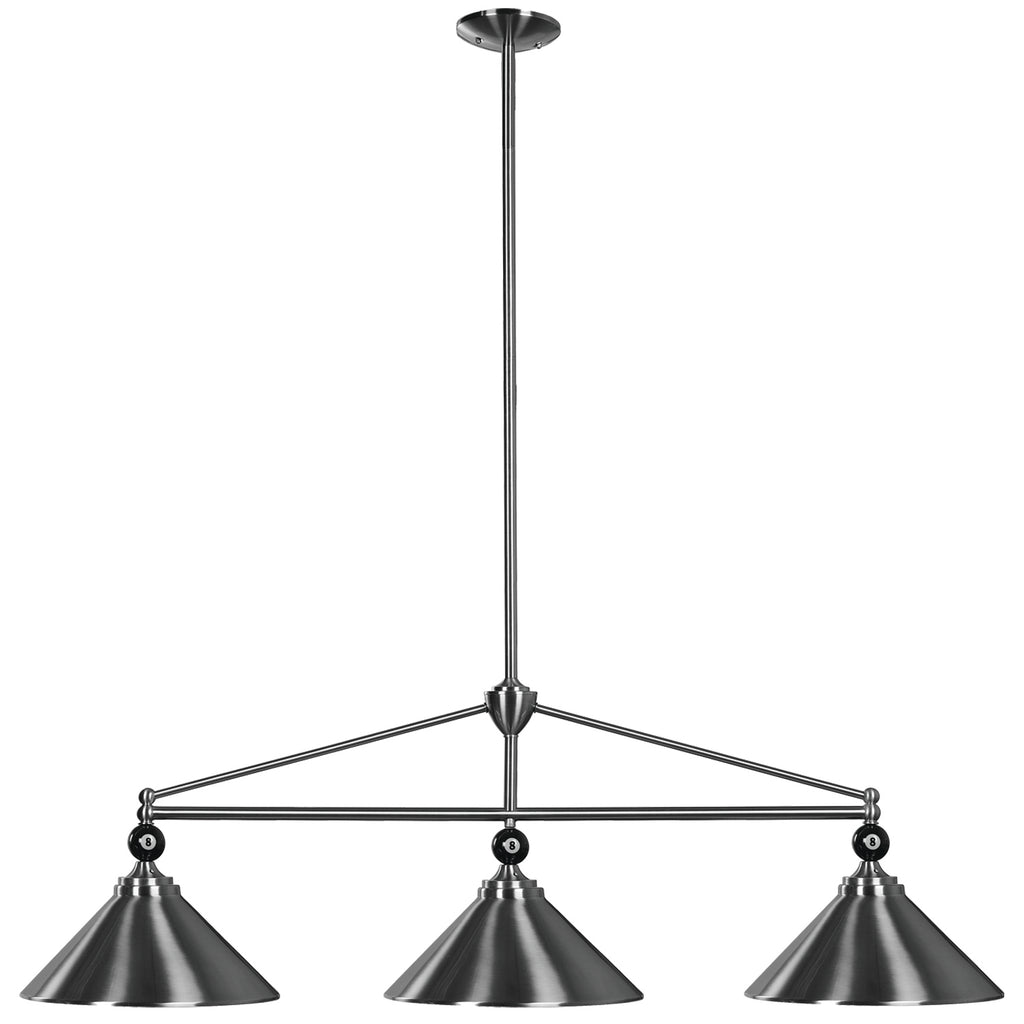 "54"" 3 SHADE BILLIARD FIXTURE"