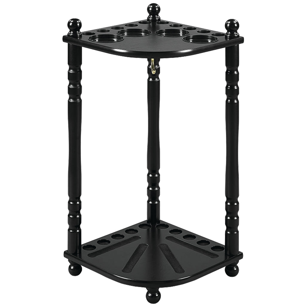 FLOOR CUE RACK - BLACK