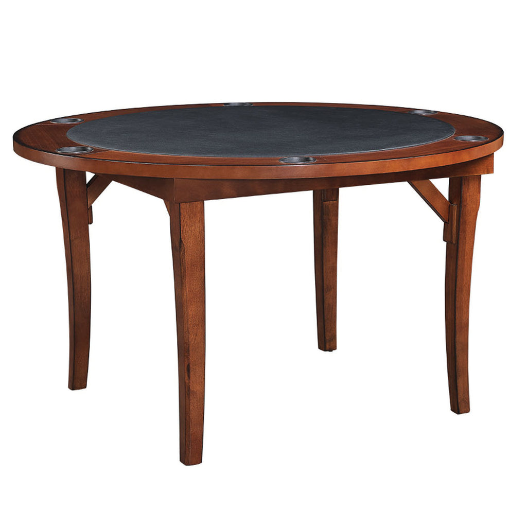 "48"" FOLDING GAME TABLE - CHESTNUT"