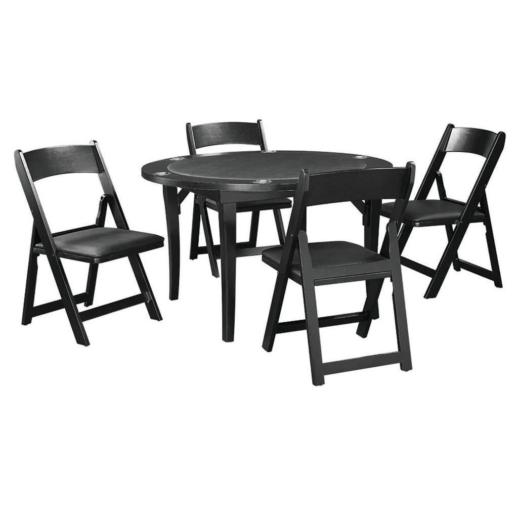 FOLDING GAME CHAIR - BLACK