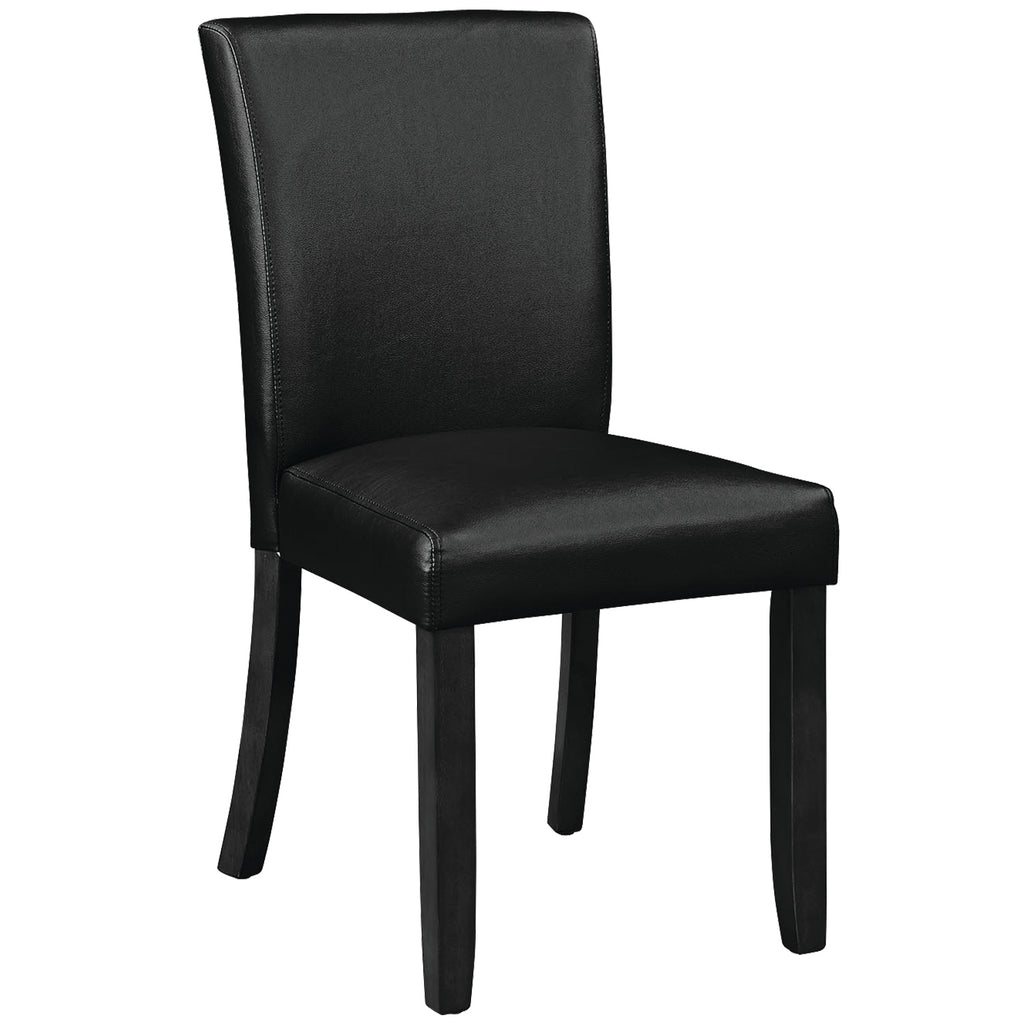 GAME/DINING CHAIR - BLACK