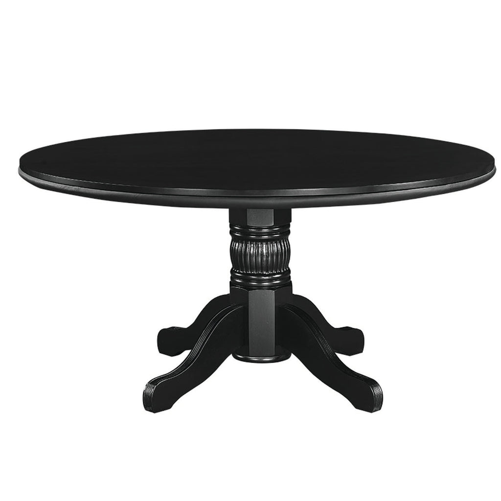 "60"" 2 IN 1 GAME TABLE - BLACK"