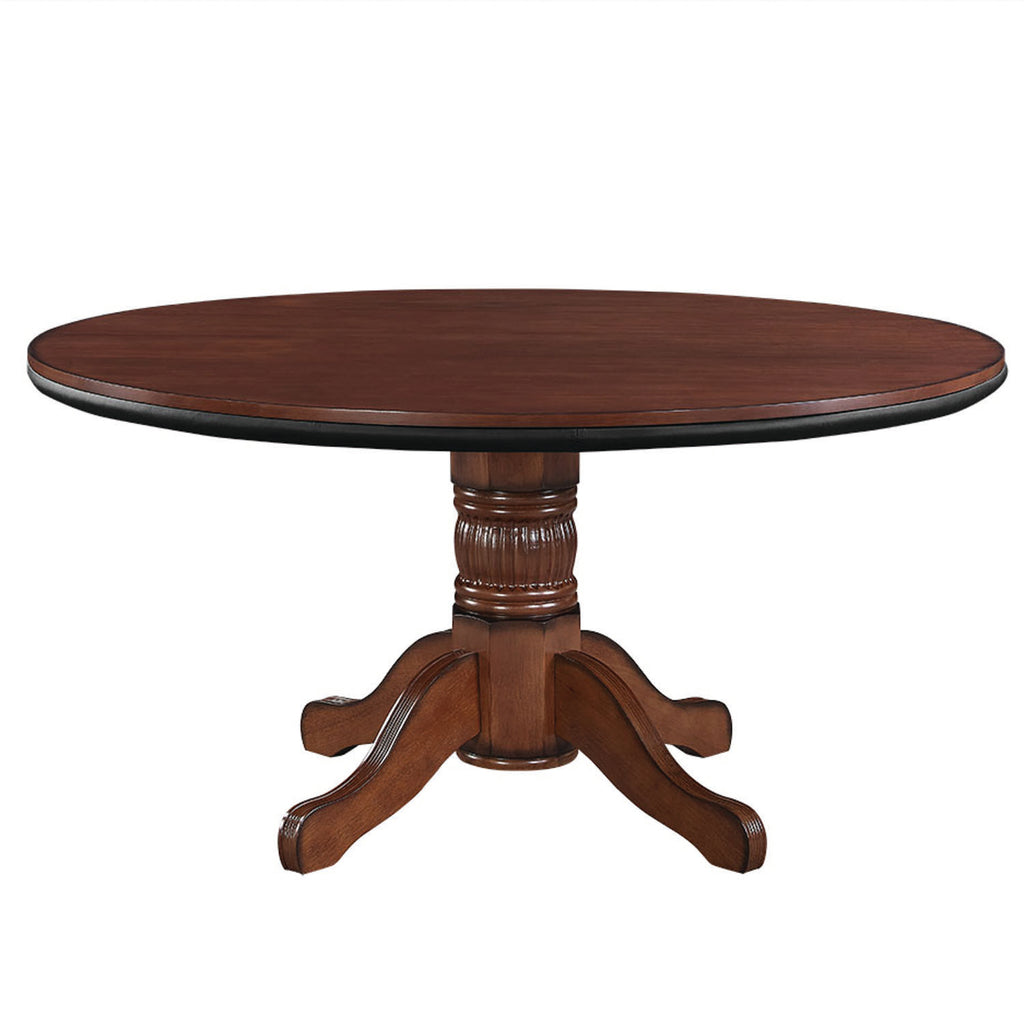 "60"" 2 IN 1 GAME TABLE - CHESTNUT"