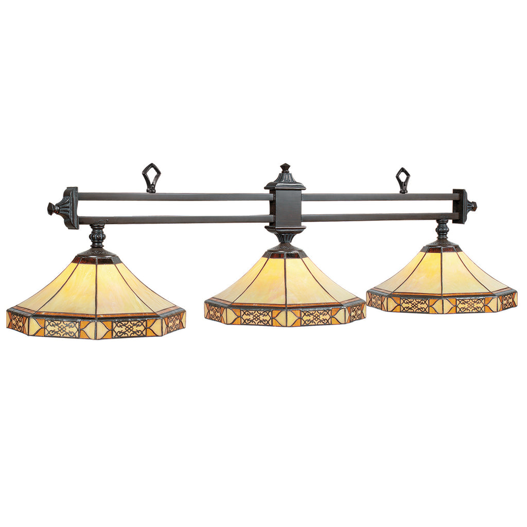 "3LT-56"" BILLIARD LIGHT-MISSION FILIGREE"