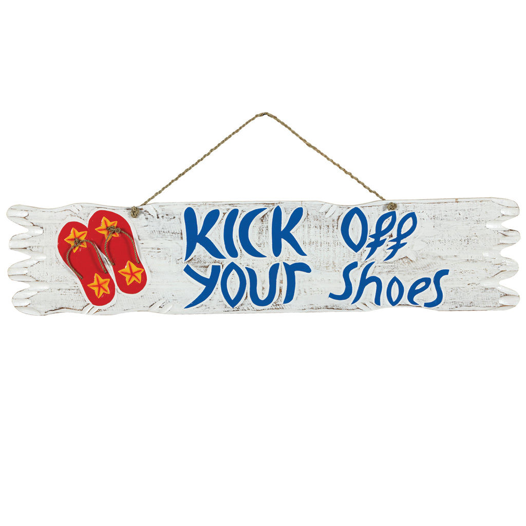 KICK OFF YOUR SHOES