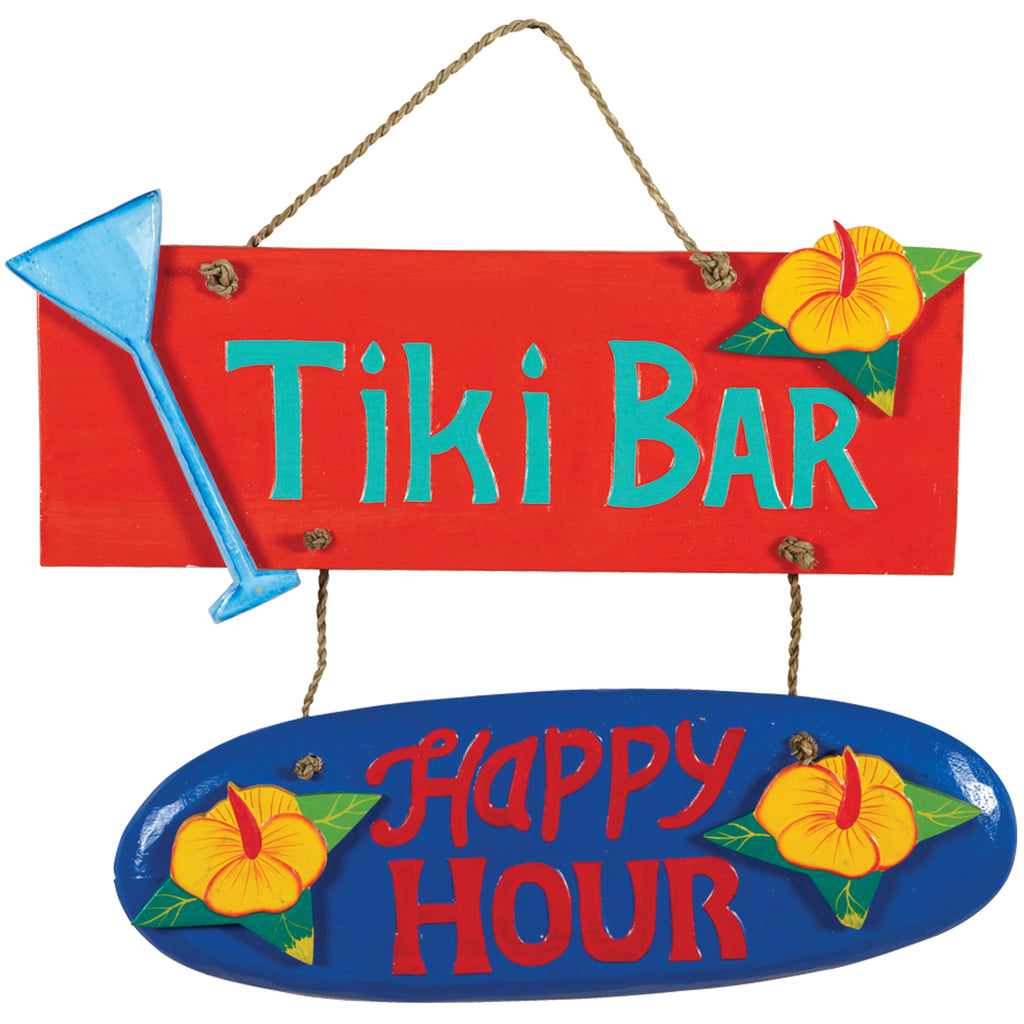 TIKI BAR/HAPPY HOUR