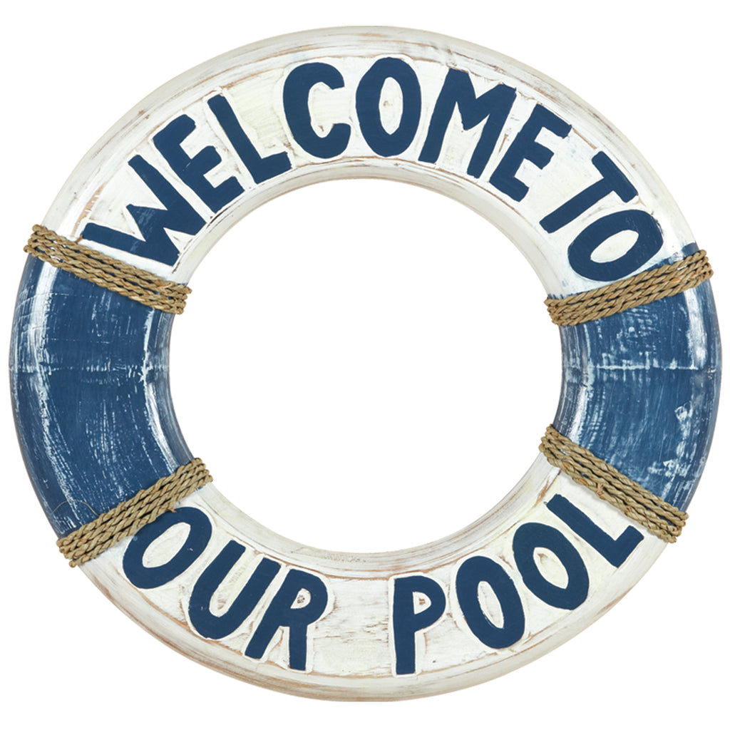 WELCOME TO OUR POOL LIFE RING