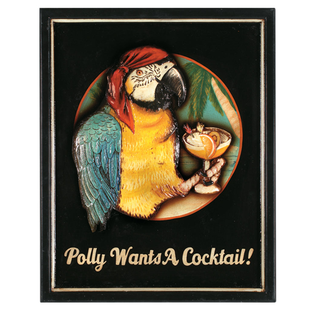 POLLY WANTS A COCKTAIL