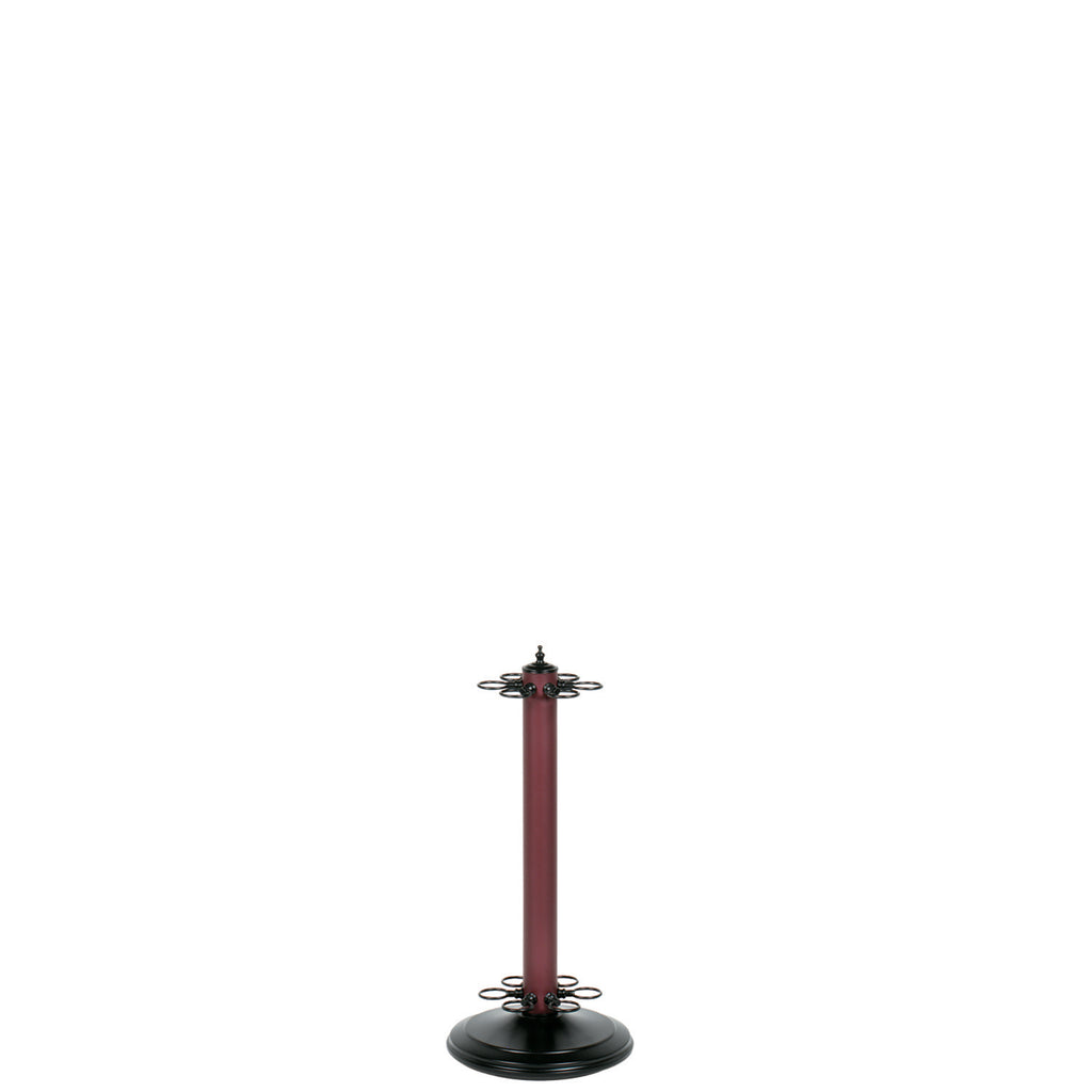 "24""H POOL CUE HOLDER-MATTE BURGUNDY"