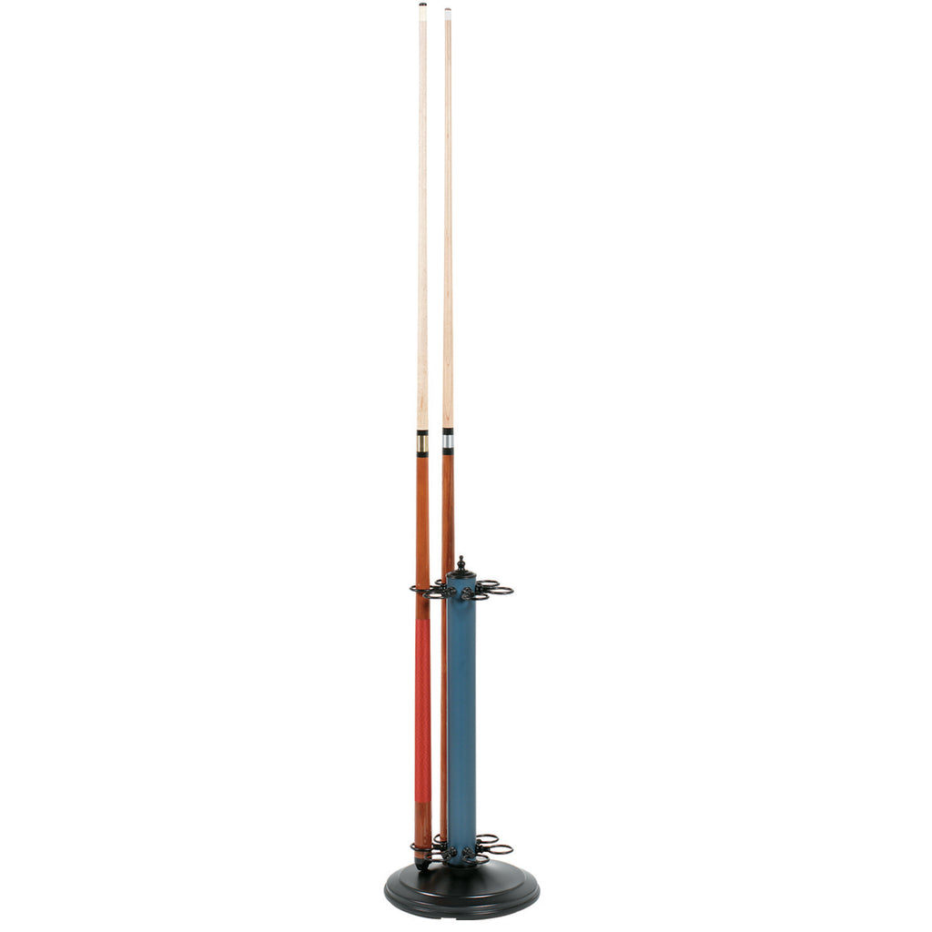 "24""H POOL CUE HOLDER-MATTE BLUE"