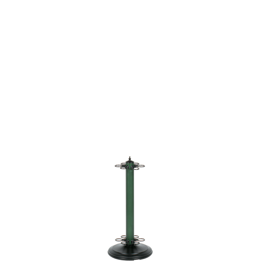"24""H POOL CUE HOLDER-MATTE GREEN"