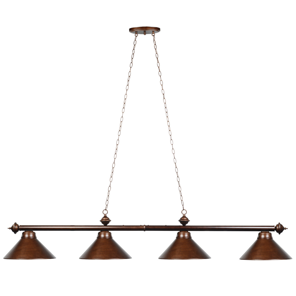 "78"" 4 LT BILLIARD LIGHT-CAPPUCCINO"