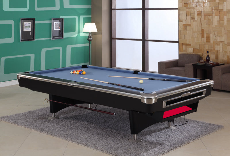 President V Pool Table - Black