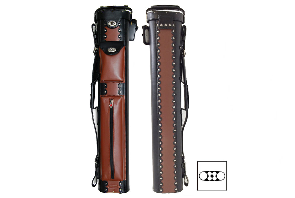 Delta Leather 2x4 Cowboy Case Brown