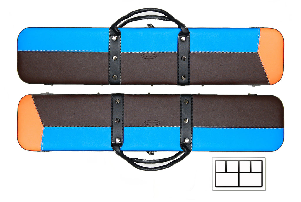 Delta Blue & Brown 2x4 Soft Case