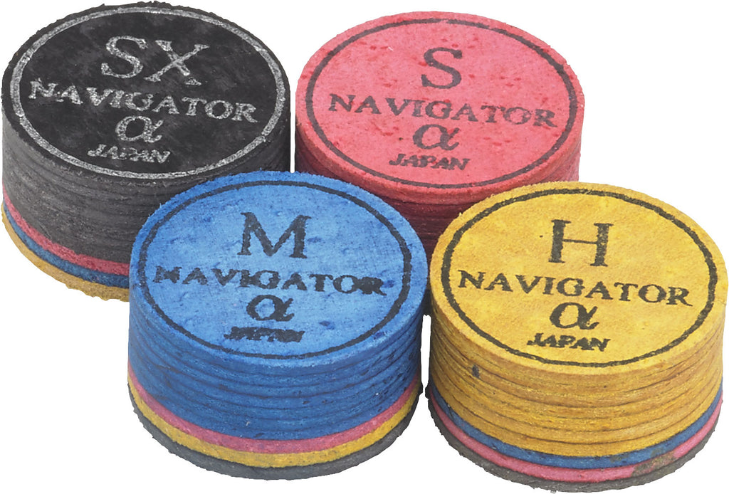 Pool Cue Accessories - Pool Cue Tips - Navigator - Hard
