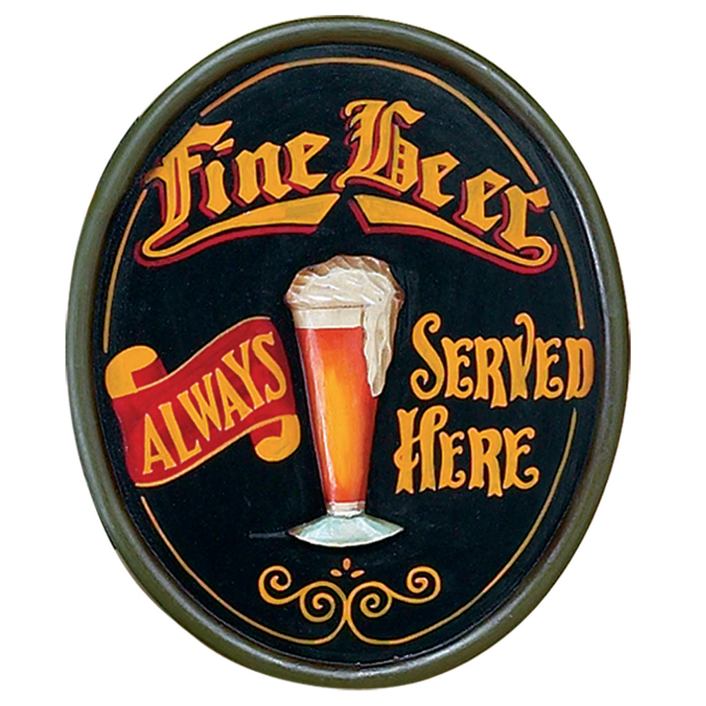 "PUB SIGN-FINE BEER-23.5""H"
