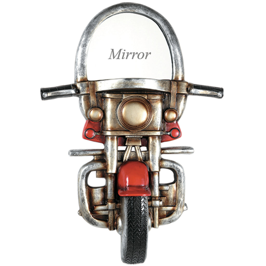 PUB SIGN-MOTORCYCLE WITH MIRROR