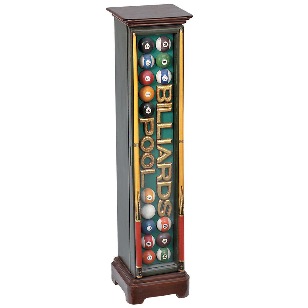 "40"" BILLIARDS/POOL CD HOLDER"