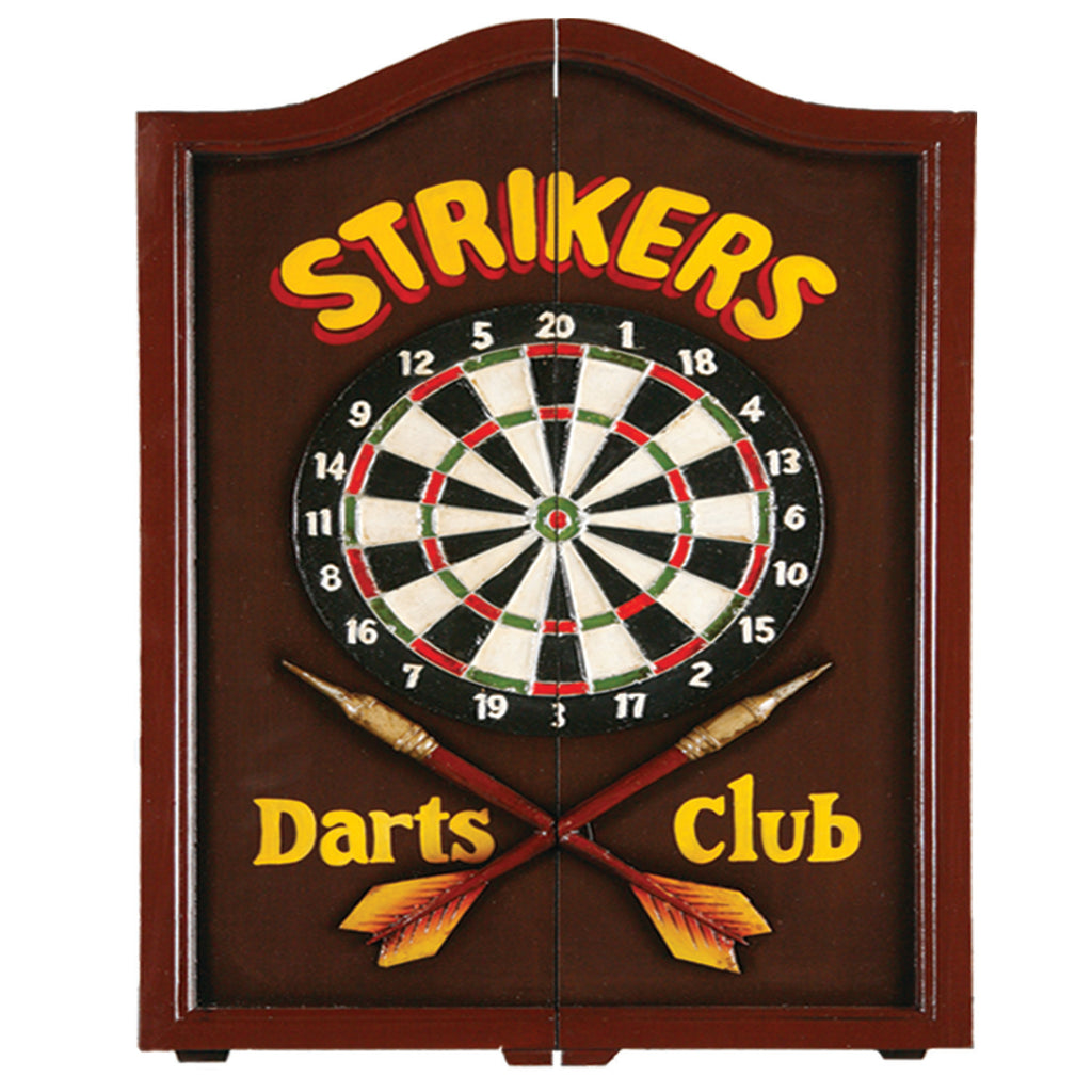 STRIKERS DARTBOARD CABINET