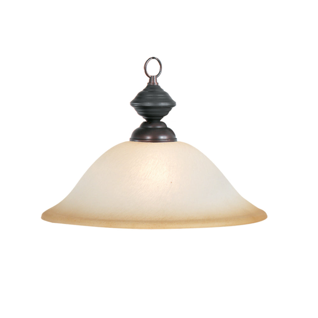 "16"" PENDANT-OIL RUBBED BRONZE"