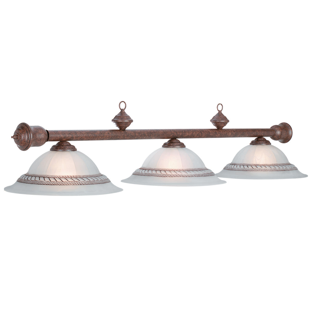 "59""-3 LT CORDA LIGHT-OLD BROWN"
