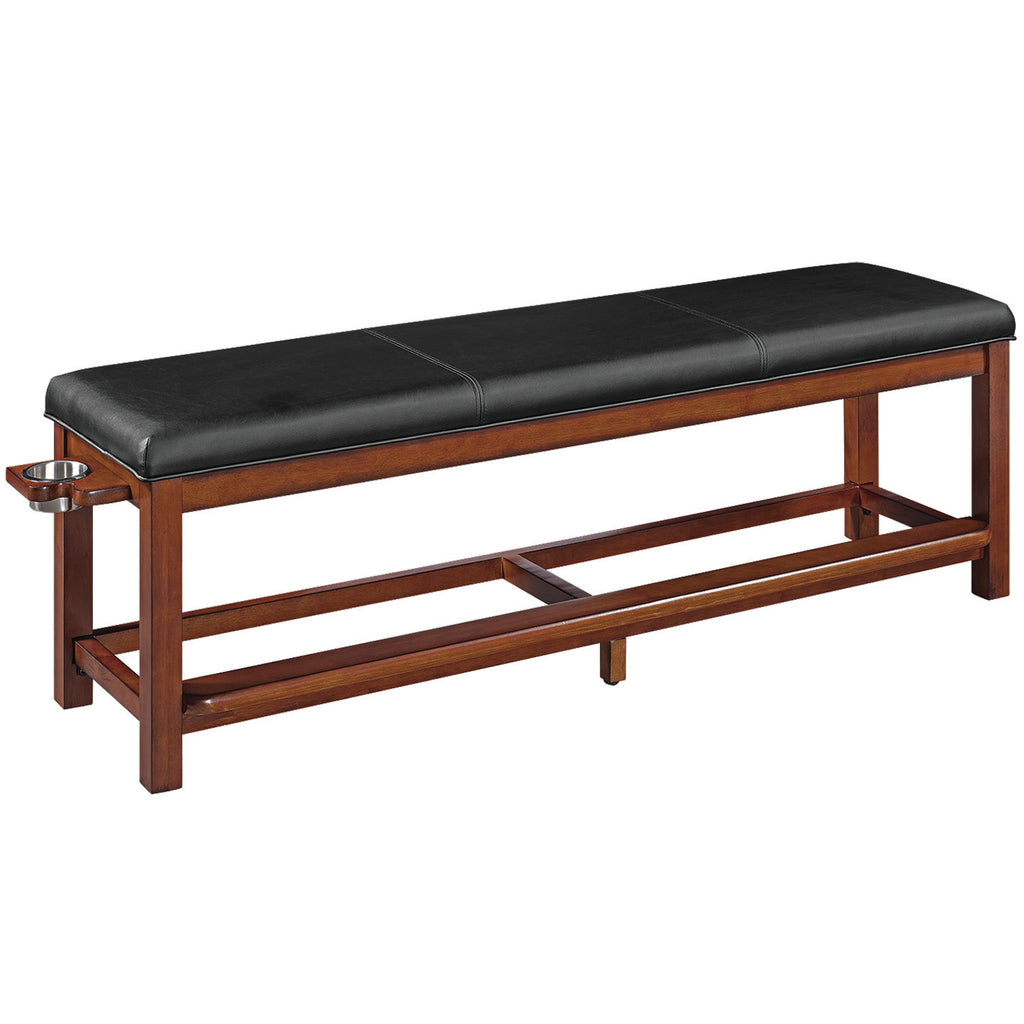 SPECTATOR STORAGE BENCH-CHESTNUT