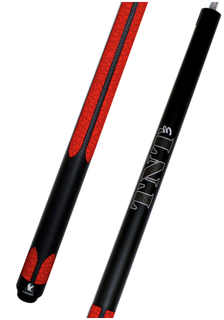 Falcon TNT3 Break Cue Red